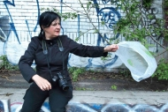 Nicole Panneton - Où va le vent? - Sonder la track - 17 juillet 2014 - Crédit photographique Julie Laurin