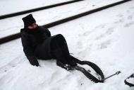 Nicole Panneton - Retenue a sol - Sonder la track - 11 décembre 2013 - Crédit photographique Julie Laurin