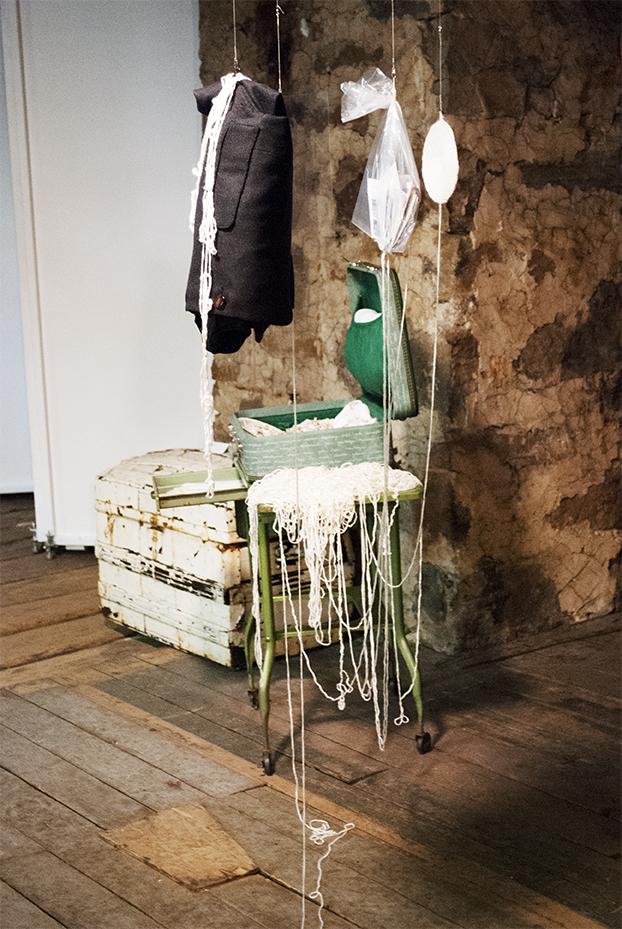 Nicole Panneton - Autre espace temps - Installation - Vue d'ensemble - Musée Lepailleur Châteauguay - 2013-2014