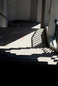 Nicole Panneton - L'escalier qui mène à la maison - Projet Sonder la track - Photographie numérique - 9 octobre 2013