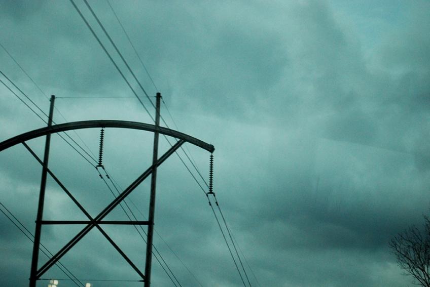 Nicole Panneton - Le fil qui nous relie - Photographie numérique - Voyage à New York - De l'autobus- Automne 2012