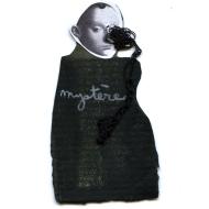 Nicole Panneton - Mystère - Série L'inconnue - No 10 - Collage, encre sur papier et fil crocheté - 2014
