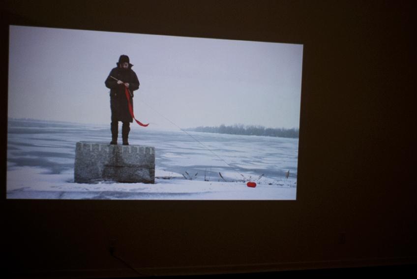 Nicole Panneton - Dérive - Extrait de film - Projet Des mailles et des mots - 2015 - Crédit photographique Julie Laurin
