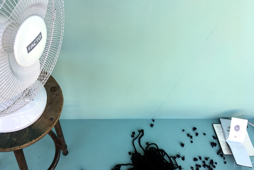Nicole Panneton - Taire ce qui ne peut être dévoilé - L'Écrin - L'imprimerie centre d'artistes - Montréal - Crédit photographique Nicole Panneton - 12 juin 2018 - IMG3145